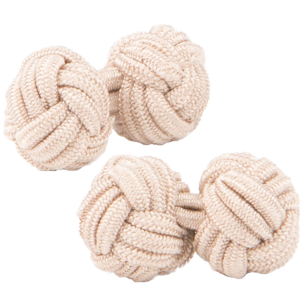 Fawn Knot Cufflinks from Cuffs & Co