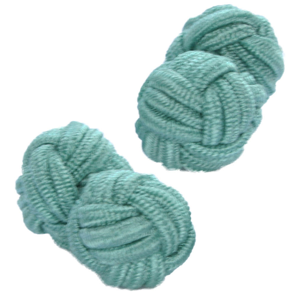 Pale Sea Knot Cufflinks from Cuffs & Co