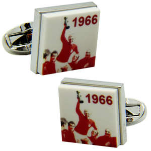 England 1966 Cufflinks from Cuffs & Co