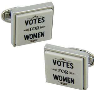 Votes for Women Cufflinks from Cuffs & Co