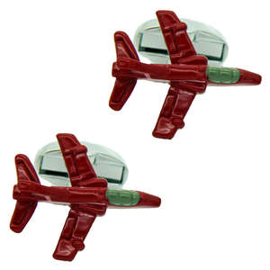 Red Arrow Hawk Cufflinks from Cuffs & Co