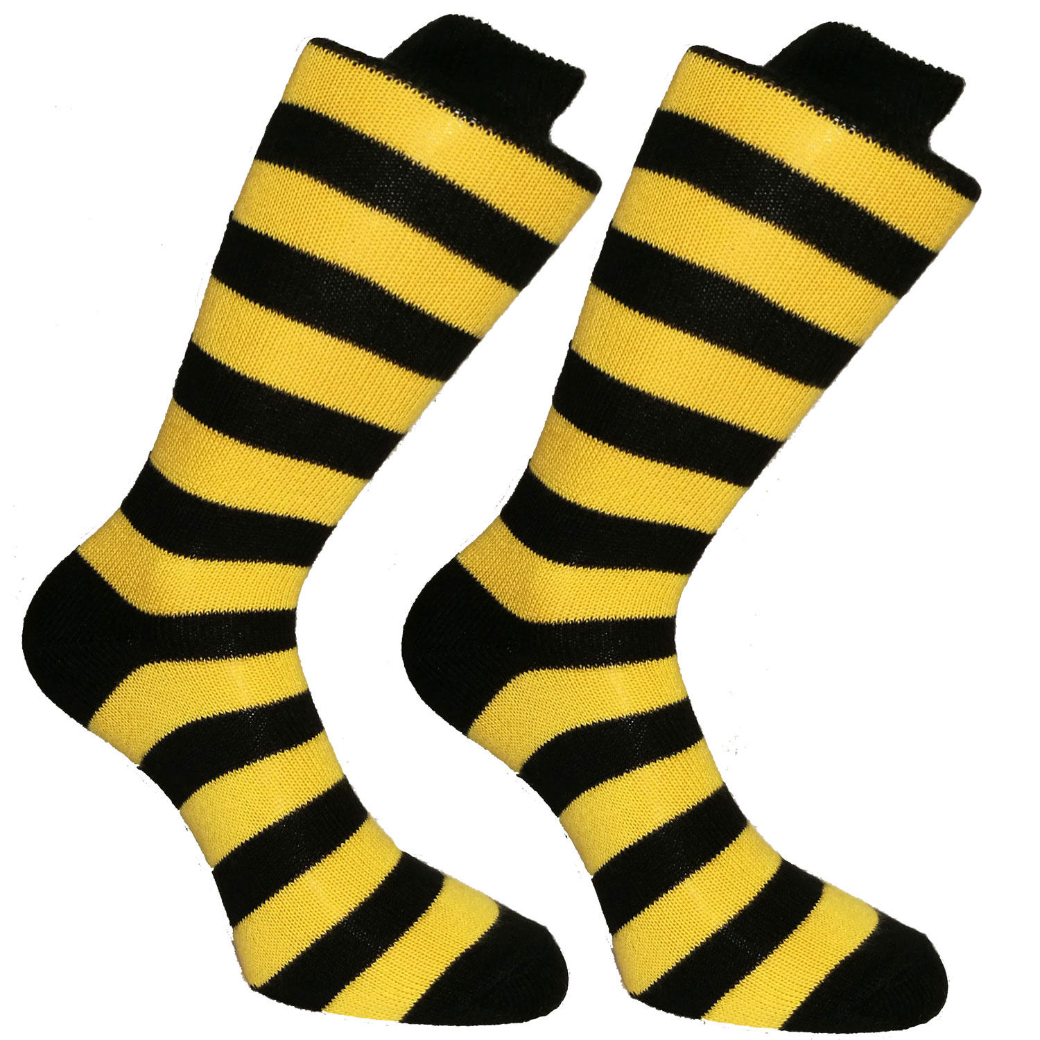 Black & Gold Stripy Socks | SOCK CLUB® from Cuffs & Co