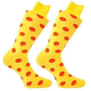 Yellow & Orange Spotty Socks | SOCK CLUB® from Cuffs & Co