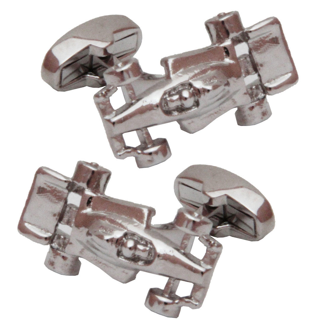 Grand Prix Racing Car Cufflinks from Cuffs & Co