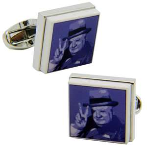 Winston Churchill Cufflinks from Cuffs & Co