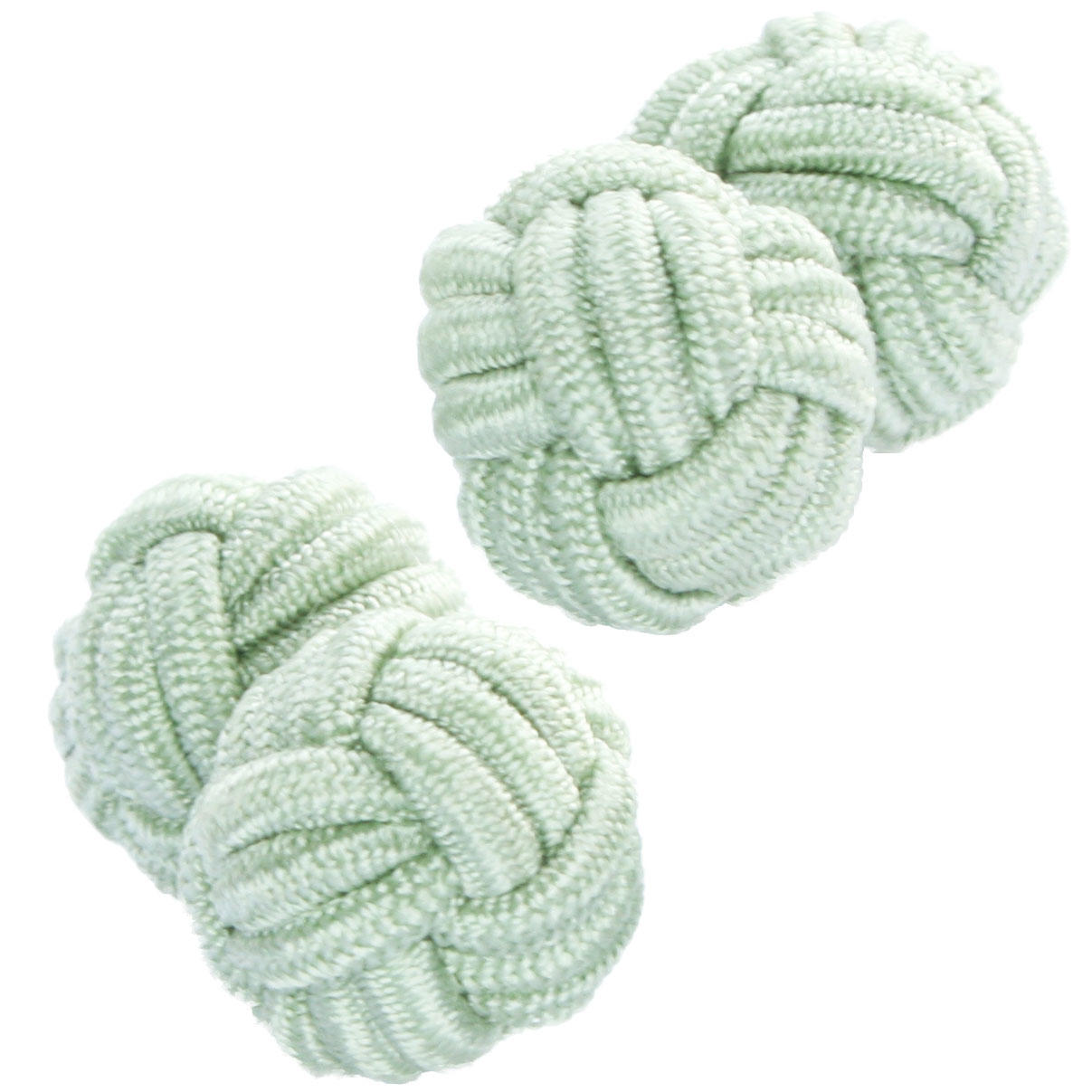 Peppermint Knot Cufflinks from Cuffs & Co