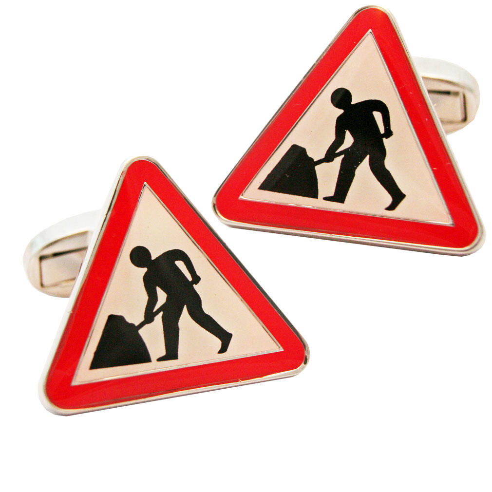 Men at Work Cufflinks from Cuffs & Co
