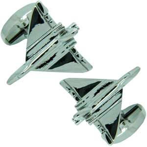 Vulcan Jet Cufflinks from Cuffs & Co