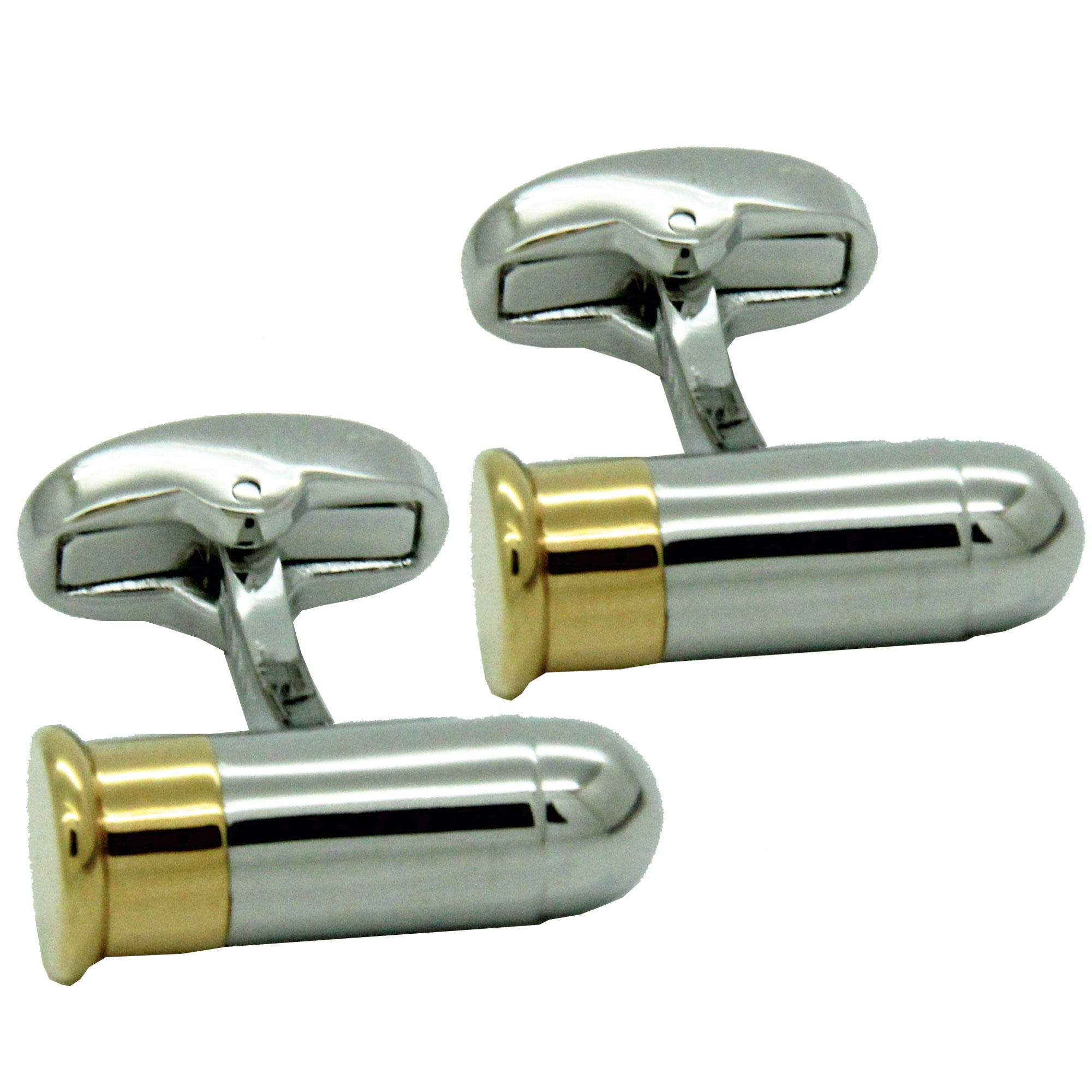 Bullet Cufflinks from Cuffs & Co