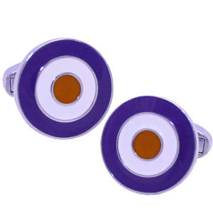 Target Roundel Cufflinks from Cuffs & Co
