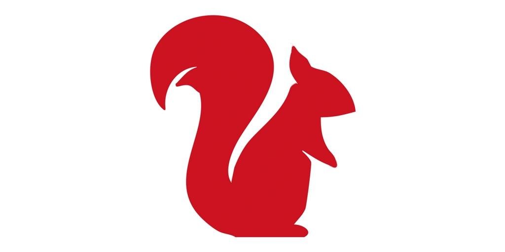 Cuffs & Co red squirrel mascot for British manufacturing