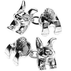 Rabbit Chain Link Cufflinks from Cuffs & Co
