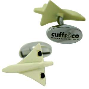 Concorde Cufflinks from Cuffs & Co