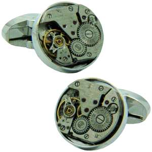 Steampunk Old Watch Cufflinks from Cuffs & Co
