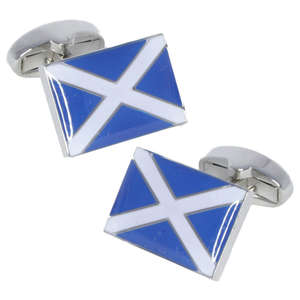 Scotland Flag Cufflinks from Cuffs & Co
