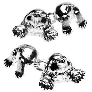 Mole Chain Link Cufflinks from Cuffs & Co