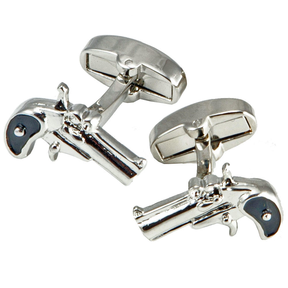 Revolver Cufflinks from Cuffs & Co