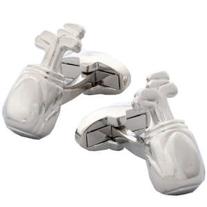 Golf Bag Cufflinks from Cuffs & Co