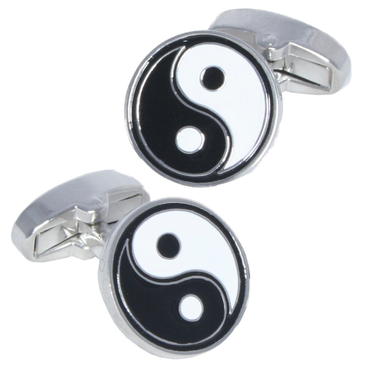 Yin-Yang Cufflinks from Cuffs & Co