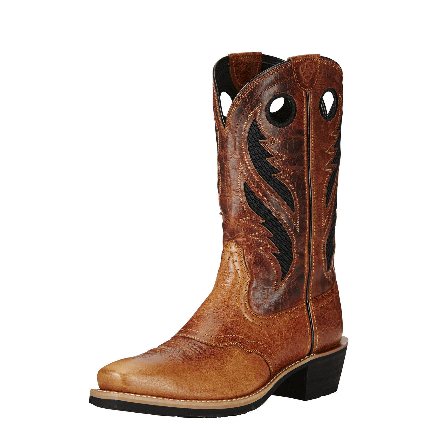 mens western riding pleasure fashion boot Heritage Roughstock Venttek STYLE # 10019980 side view