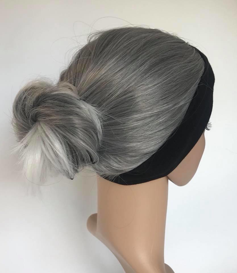 Gym Amp Swim Headband Wig Long Length