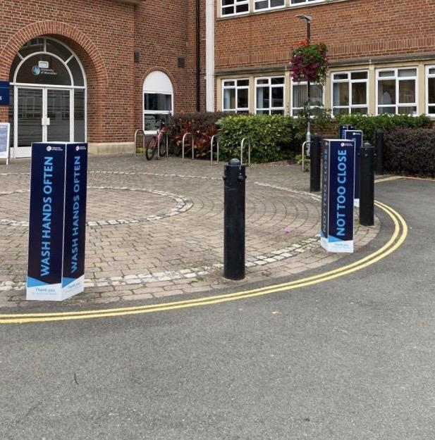 correx bollard barrier cover