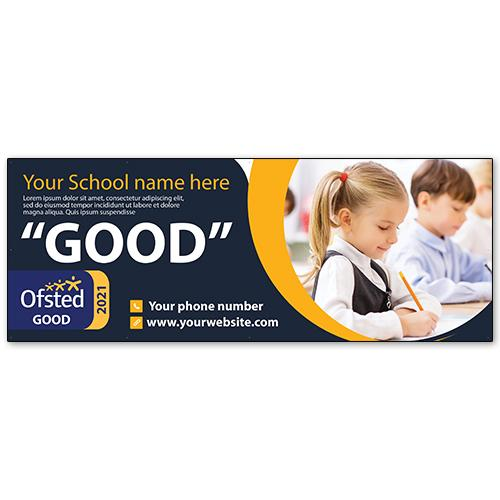 School ofsted rating showcase banner