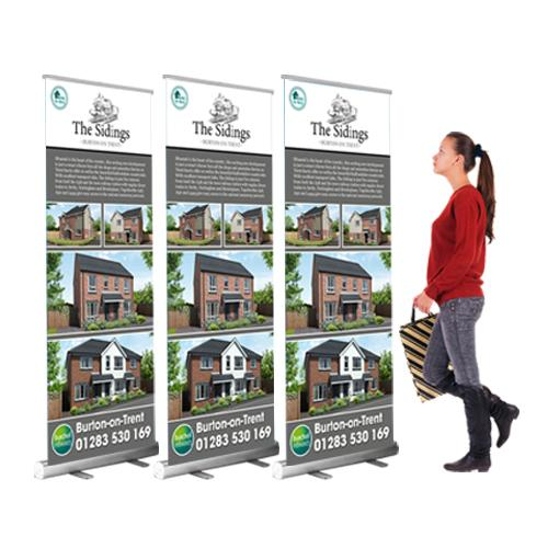 cheap roller banner package
