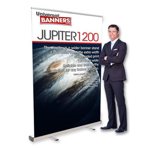 pull up banner stand