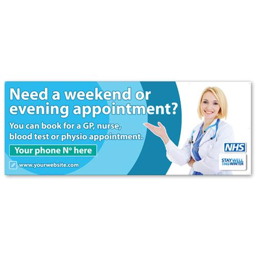 Pharmacy printed banner