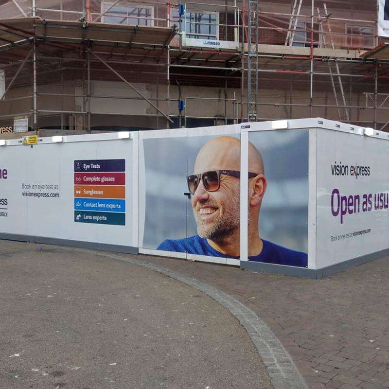 Printed Hoarding Panels   From only £72!
