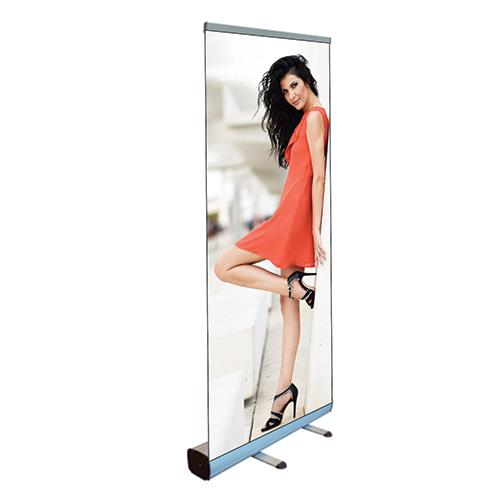 custom printed roller banner stand
