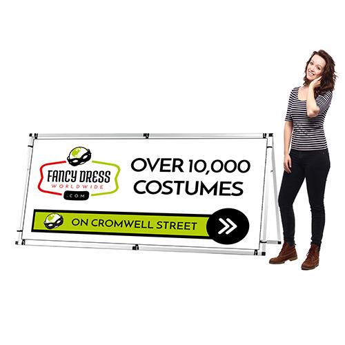 Printed Banner with frame