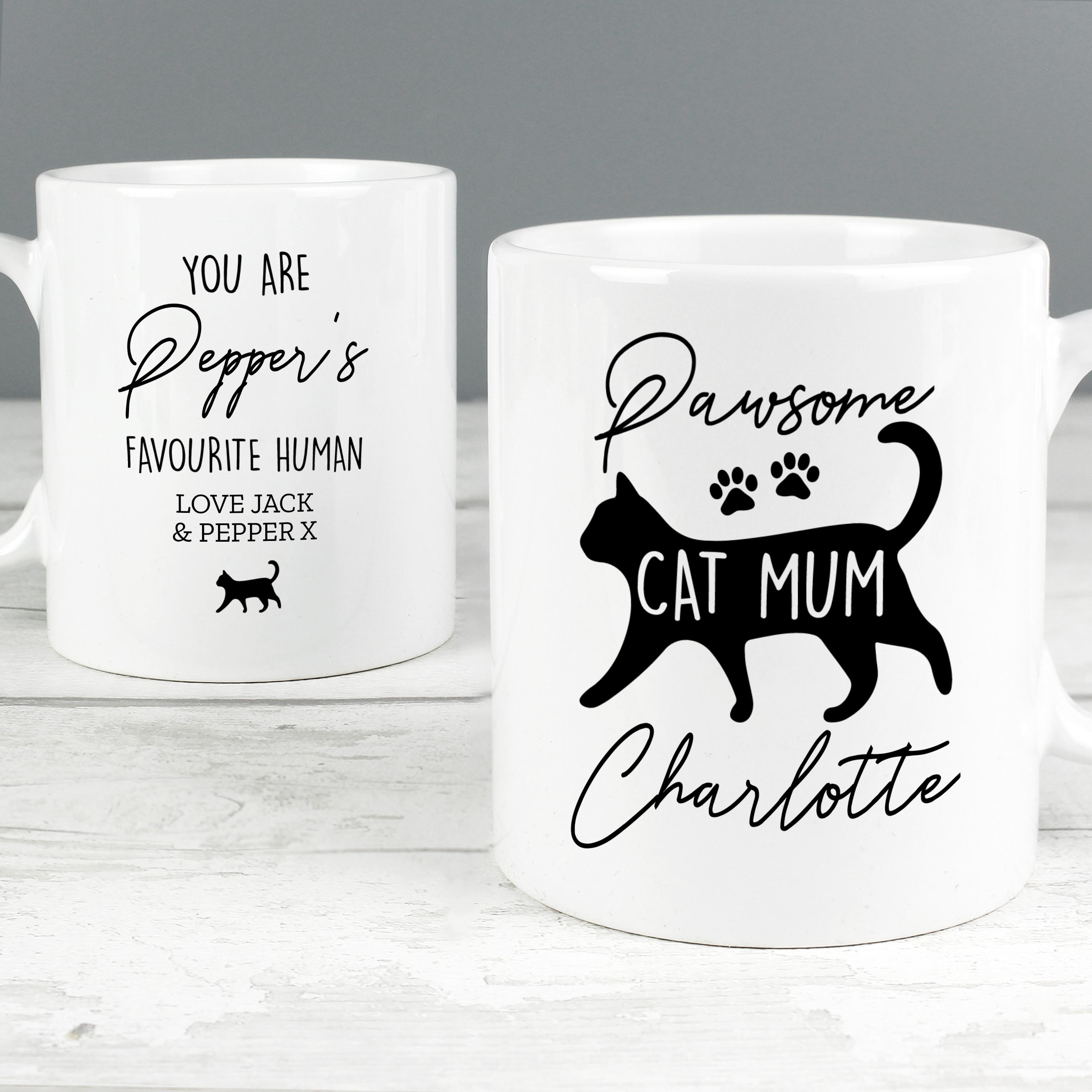 personalised cat mum