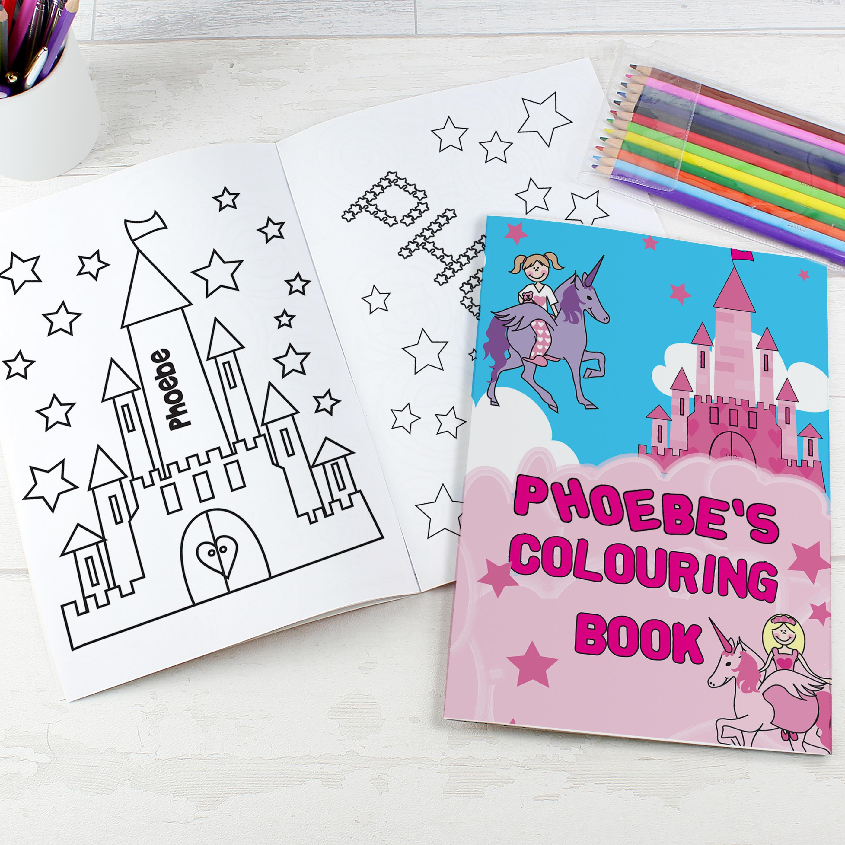Girls colouring book