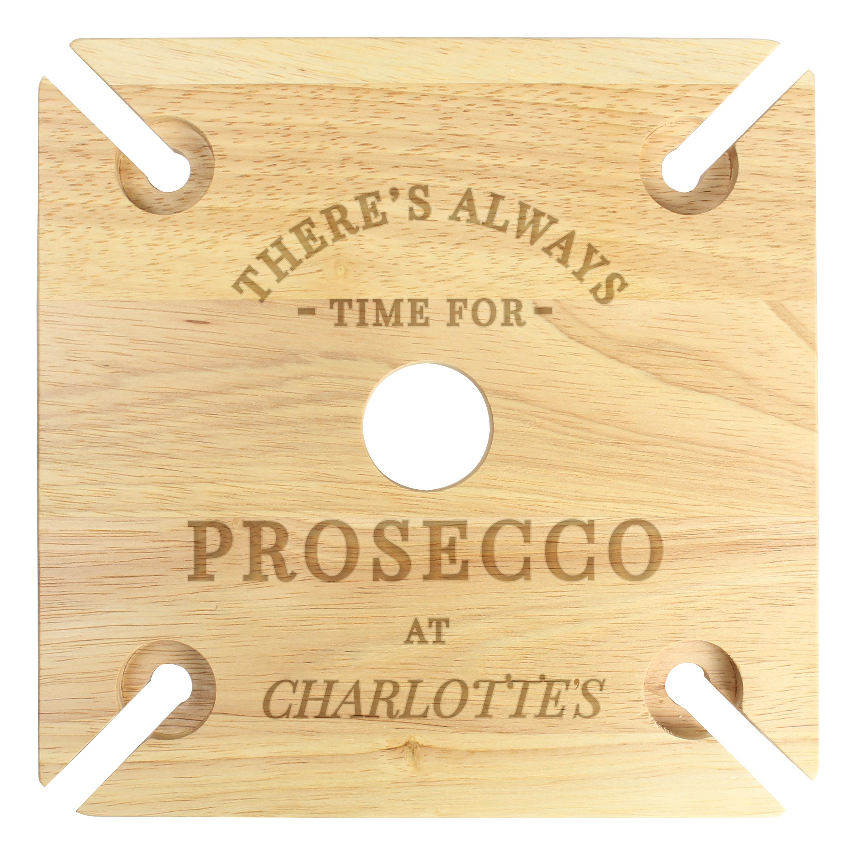 Personalised Prosecco Bottle Butler