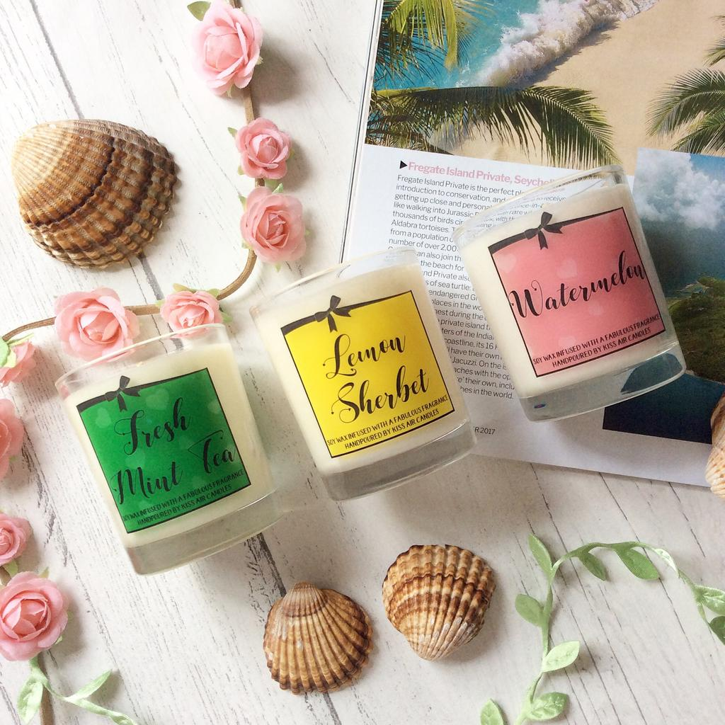 Kiss Air's best summer candle scents