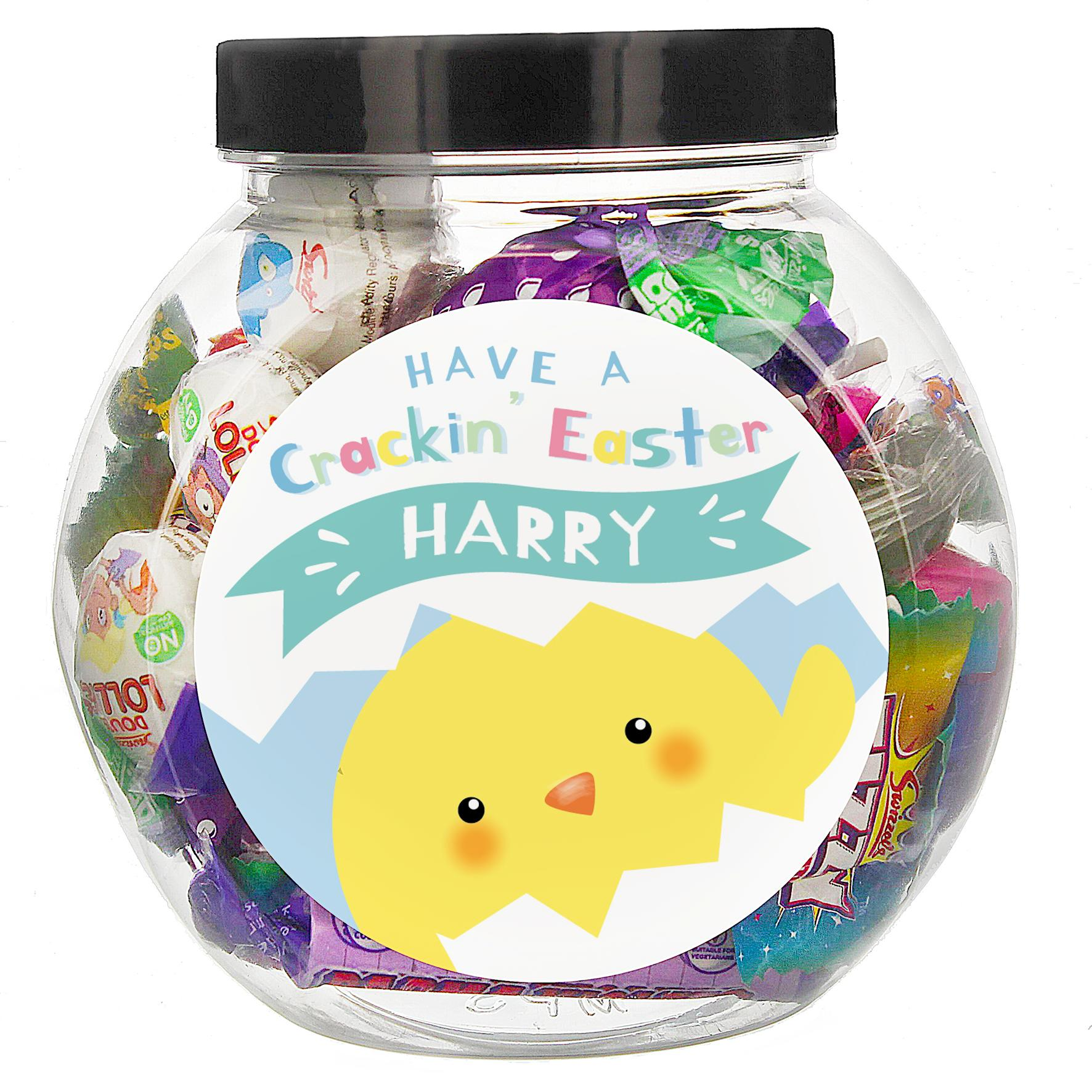 Personalised Sweet jar