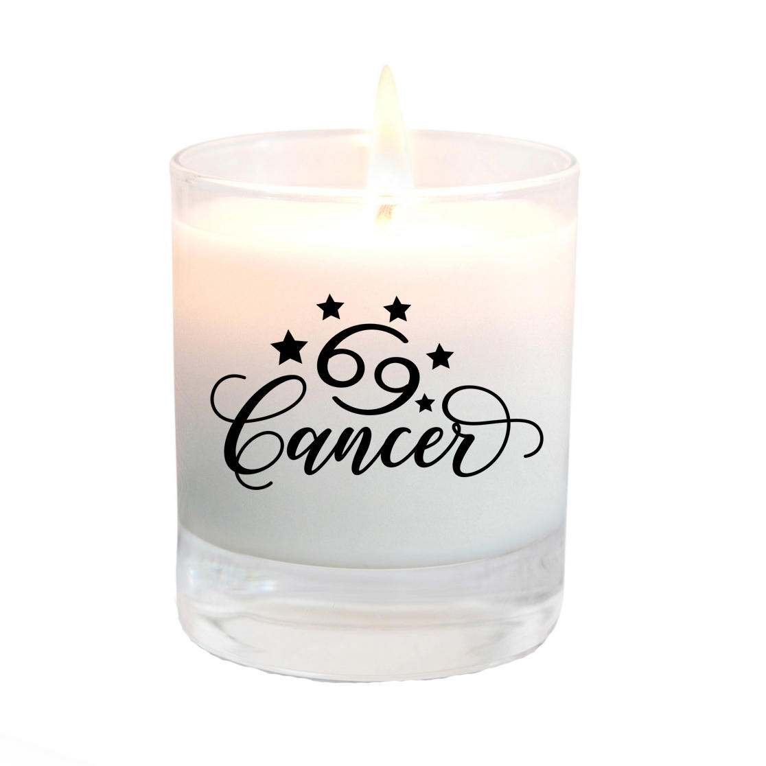 cancer star sign candle