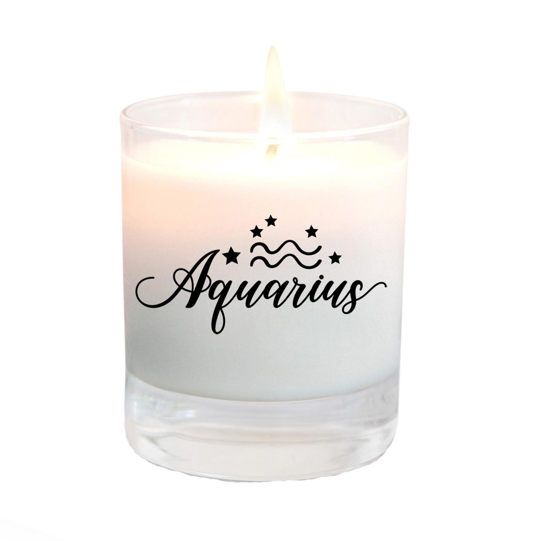 aquarius candle gift