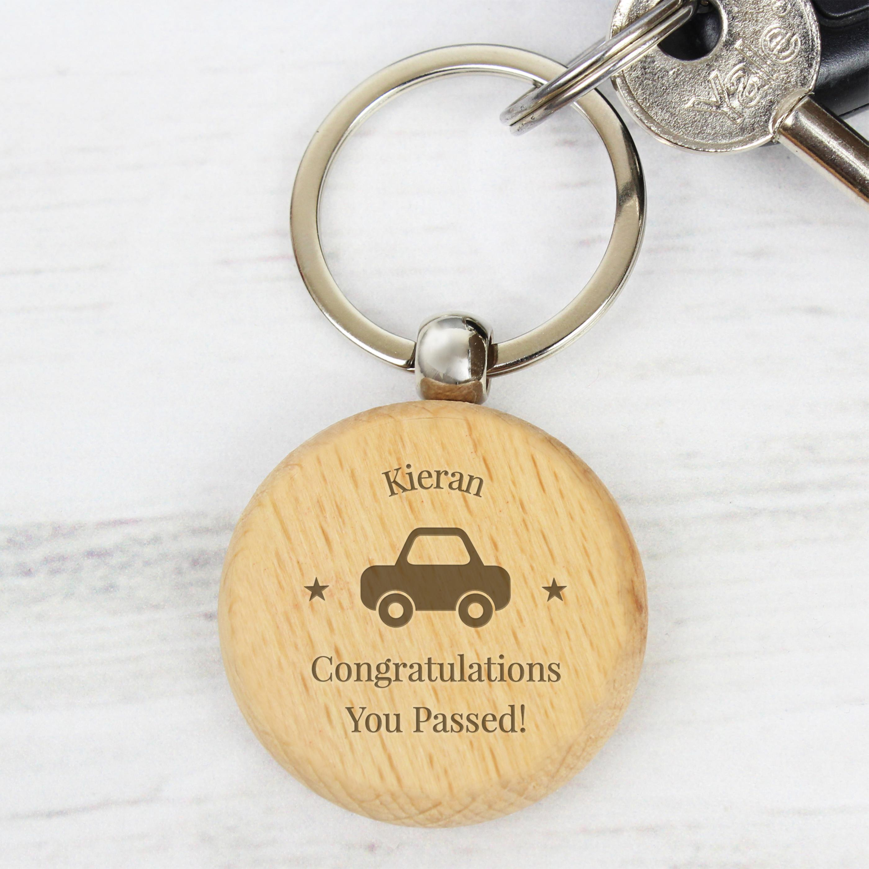 driving test passed keyring