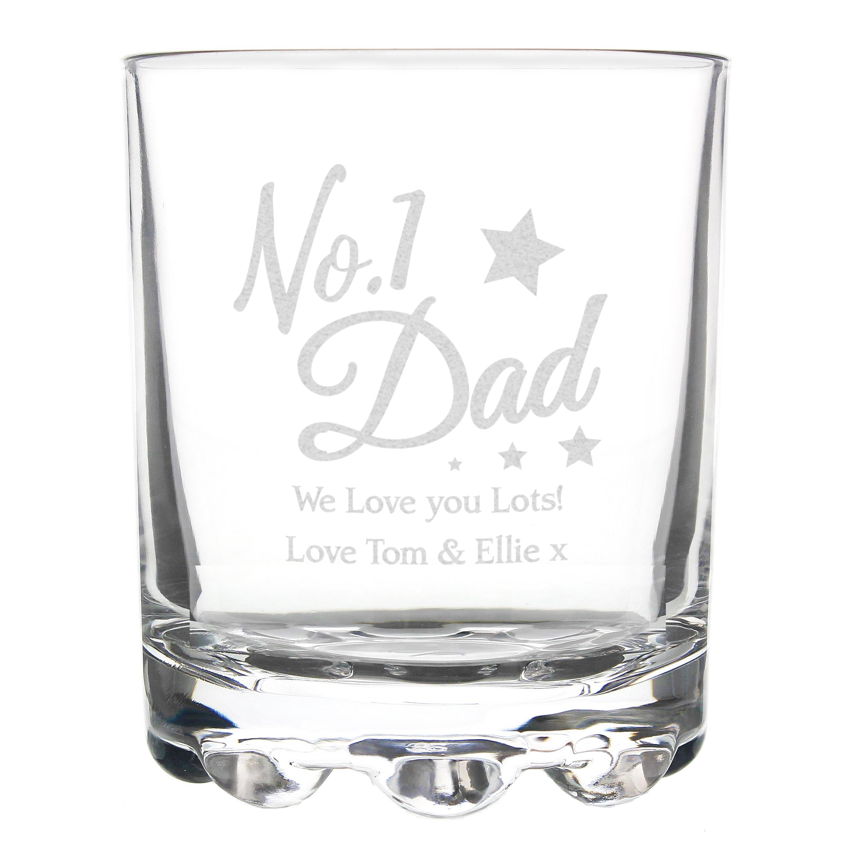 Personalised No1 Dad tumbler