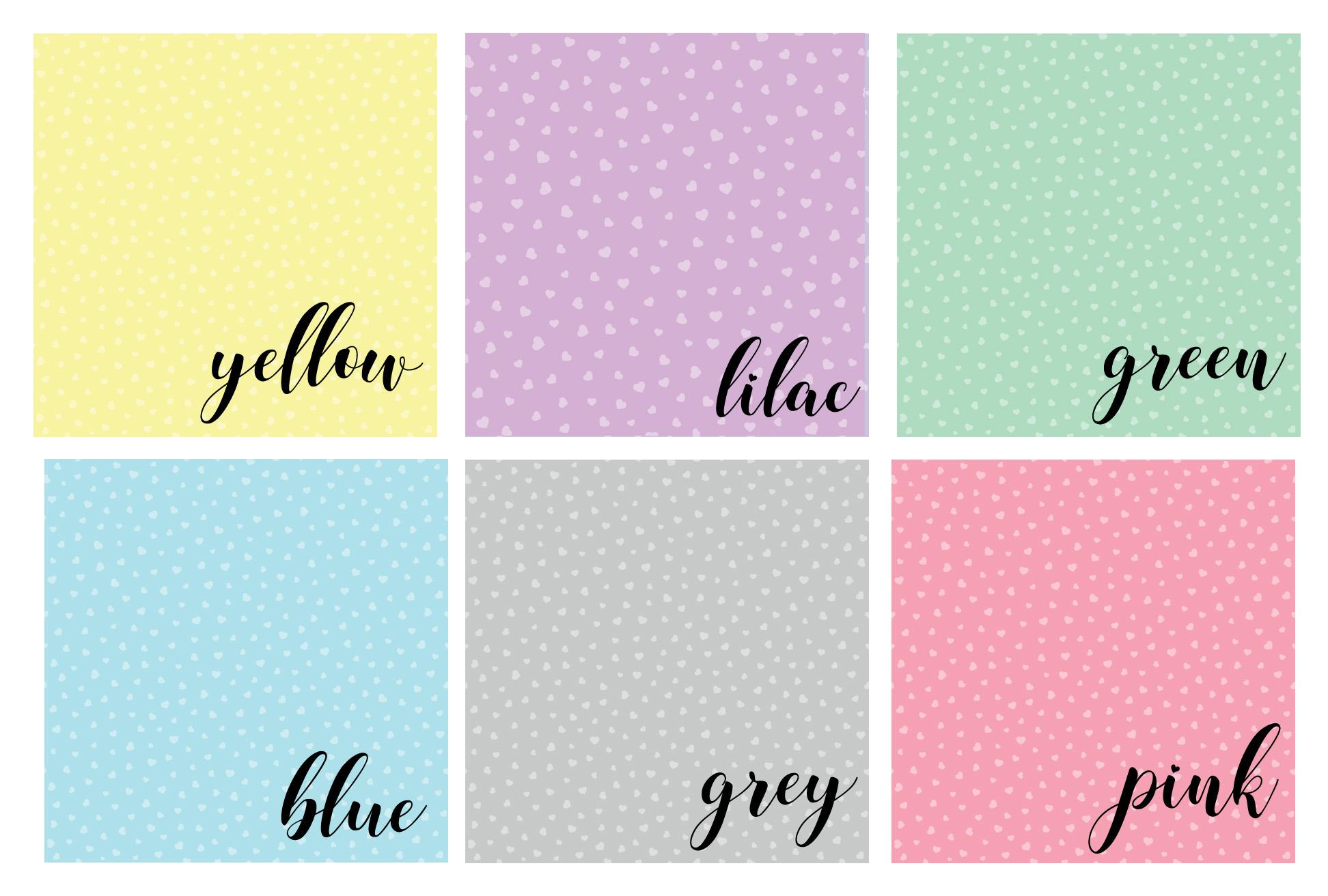 Label colour choices