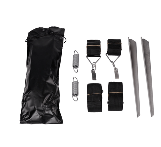 Tie down side strap kit