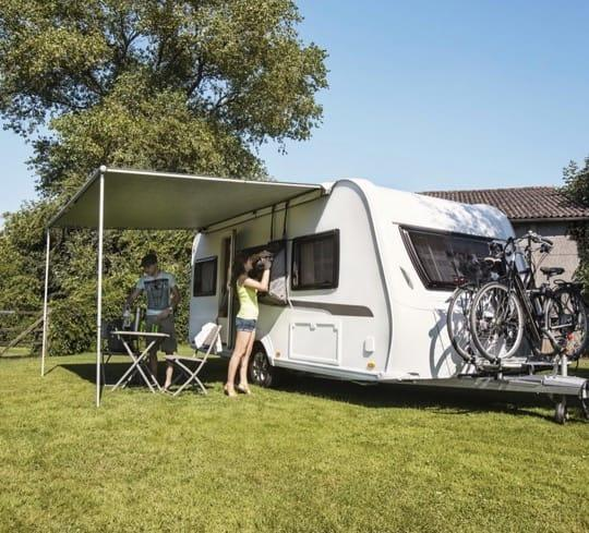 Thule 1200 Awning in use