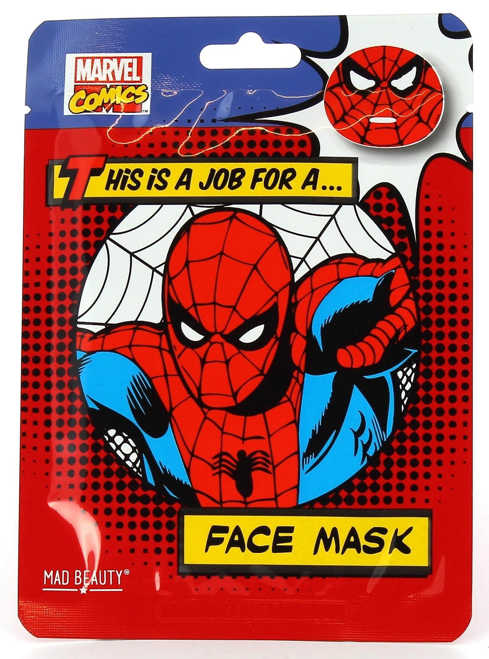 Spiderman Face Mask with Coconut Extract