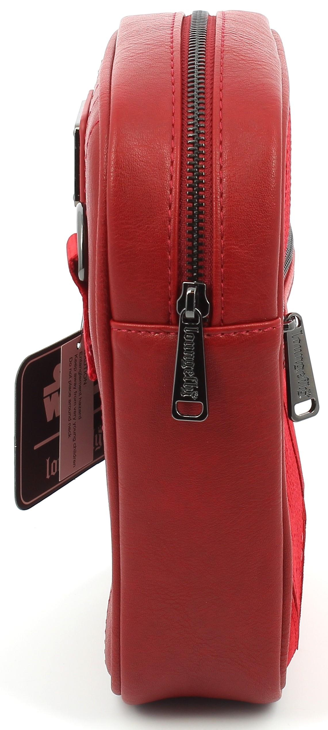 Loungefly Star Wars Ep9 Red Sith Faux Leather Cross-Body