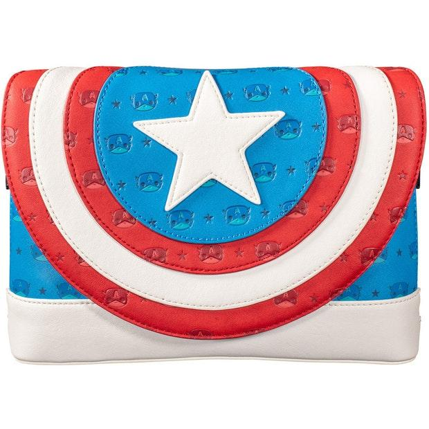 Captain America Loungefly Pop Front