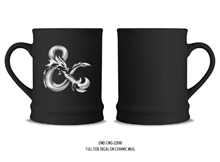 Dungeons and Dragons Coffee Mug with Foil Print 16 oz