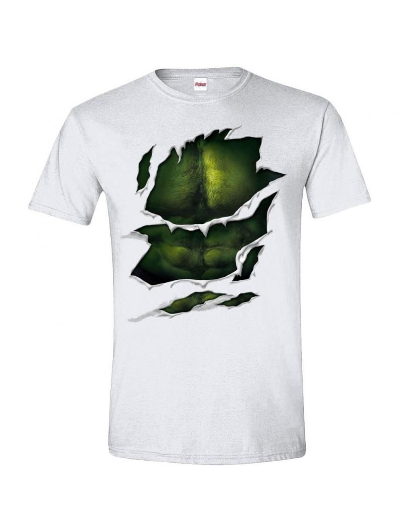 The Hulk - Hulk Suit T-Shirt - White